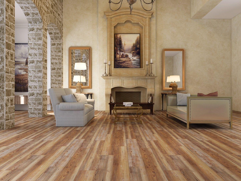Flooring In Antique Heart Pine