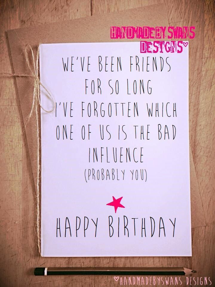 Most Current Photo Bff Crafts For Girls Ideas Summer Months Is Generally A Childre In 2021 Funny Birthday Cards Birthday Cards For Friends Happy Birthday Greeting Card