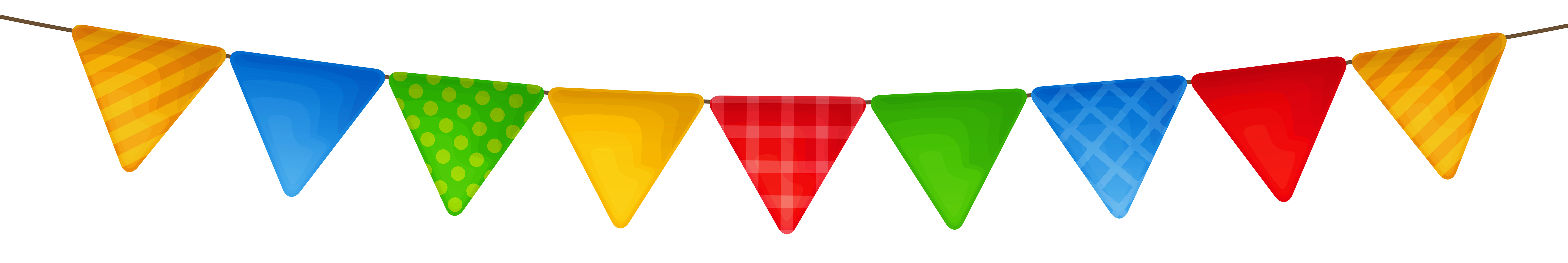 Transparent Colorful Streamer Png Picture Happy Birthday Png Birthday Clips Streamers