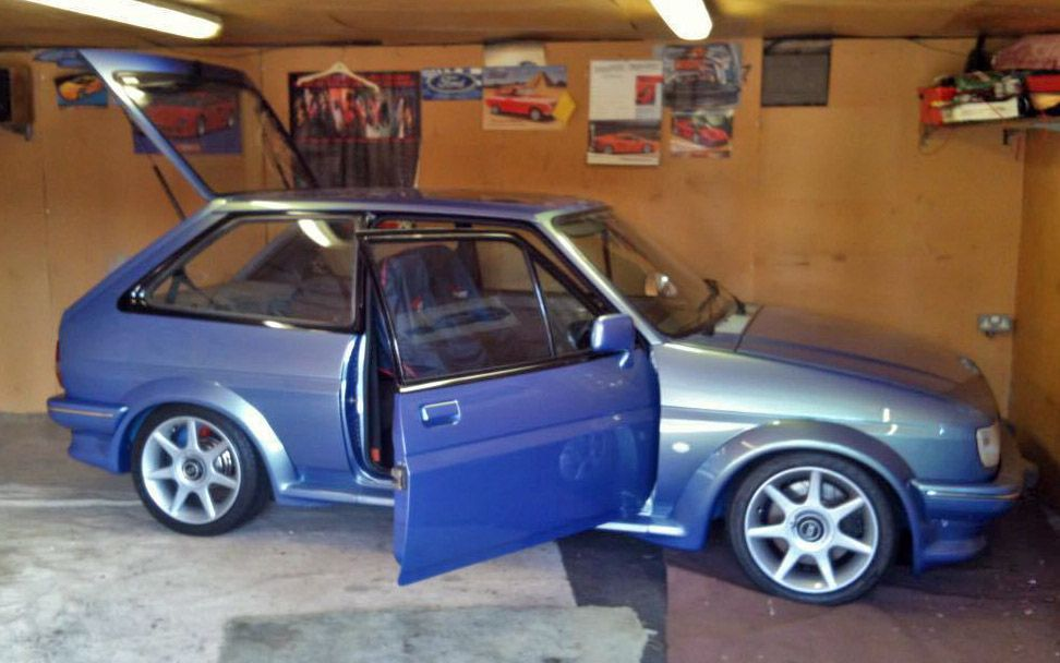 Ford Fiesta Xr2 Rs Turbo Zvh Show Car On Ebay Here Https