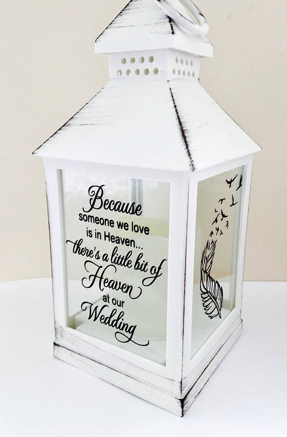 Wedding remembrance gift remembering a loved one at