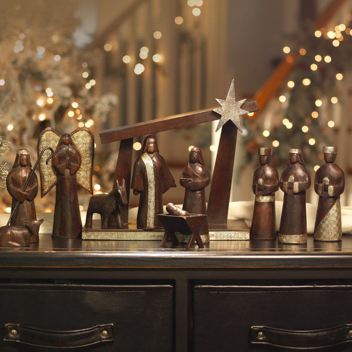 Blessings Unlimited Home Decor: Blessings Nativity...I Want It! Blessings Unlimited