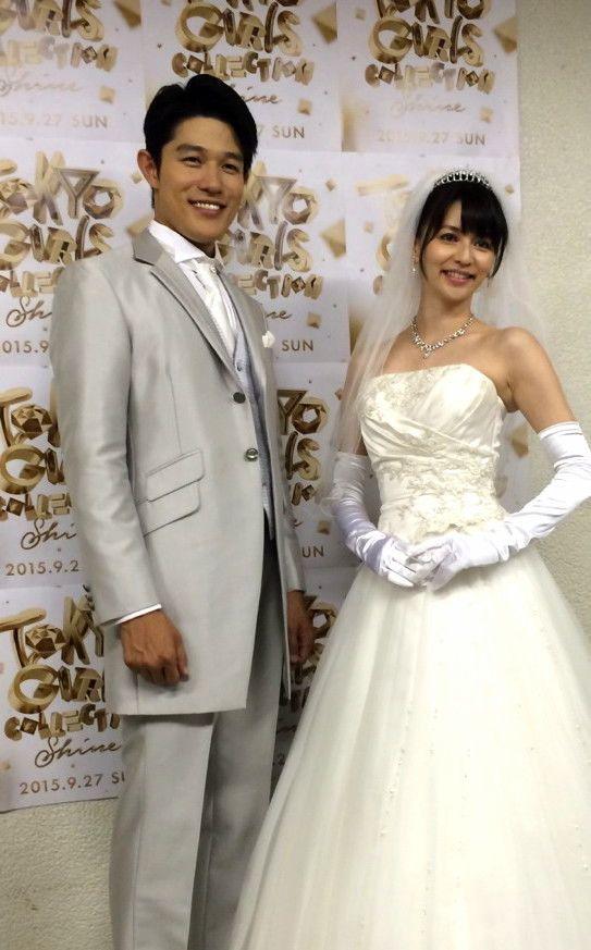 鈴木亮平 Tgc 香里奈 ドレス 結婚 式 の