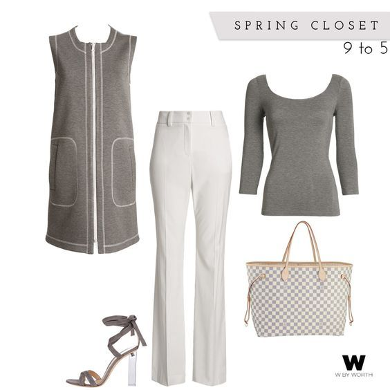 Your new favorite weekend outfit has arrived, thanks to W by Worth. Top off W by Worth's Lola Pants and Scoop Neck Tee with our Reversible Sleeveless Jacket in Sterling Grey and Optic White. You will be a hit at any luncheon. Add a heel and go from day to night.