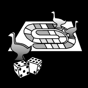 Bordspel Gezelschapsspel Ganzenbord Pictogrammen