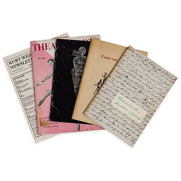 Assortment of Programs, 5 Pcs. (3.590 RUB) ❤ liked on Polyvore featuring fillers, books and other