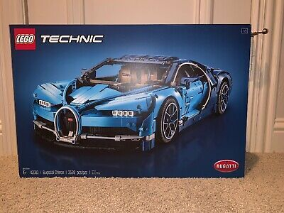 LEGO Technic Bugatti Chiron Racecar Building Kit # 42083 - New Factory Sealed #bugattichiron LEGO Technic Bugatti Chiron Racecar Building Kit # 42083 - New Factory Sealed #bugattichiron