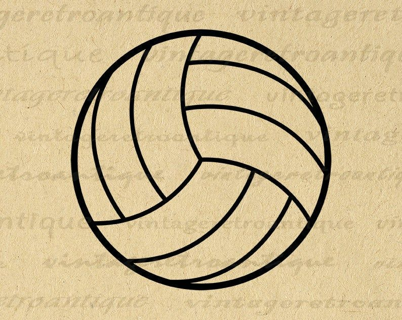 11x14 Volleyball Graphic Image Printable Download Sports Digital Icon Sports Artwork For Transfers Pillows Tea Towels Etc 300dpi No 3985 Printable Image Graphic Image Digital Artwork