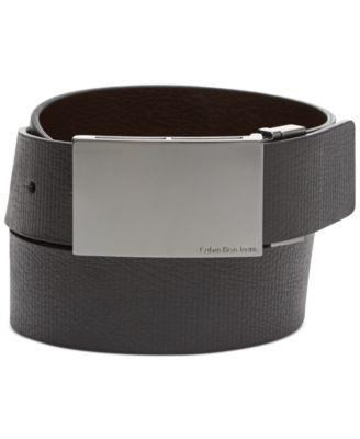 Calvin Klein Jeans Reversible Line Embossed Belt size 34