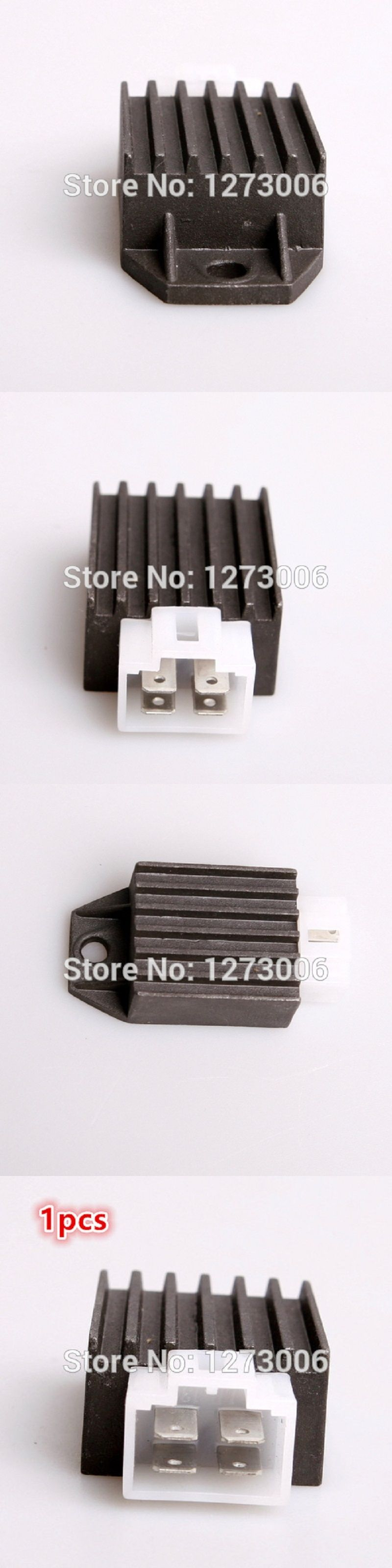 Universal 1pcs 12v Gy6125 4 Wire Male Plug Voltage Regulator Honda Crf Rectifier Wiring Motorcycle Atv 50cc 150cc