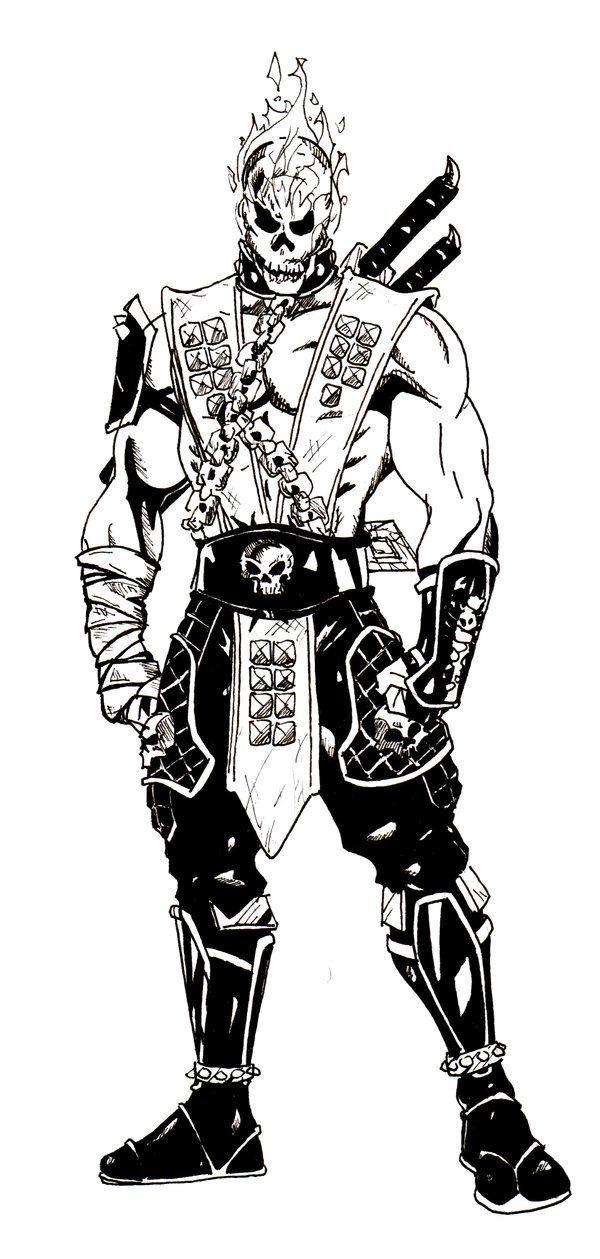 Scorpion Ver 6 By Mobd On Deviantart Mortal Kombat Scorpion
