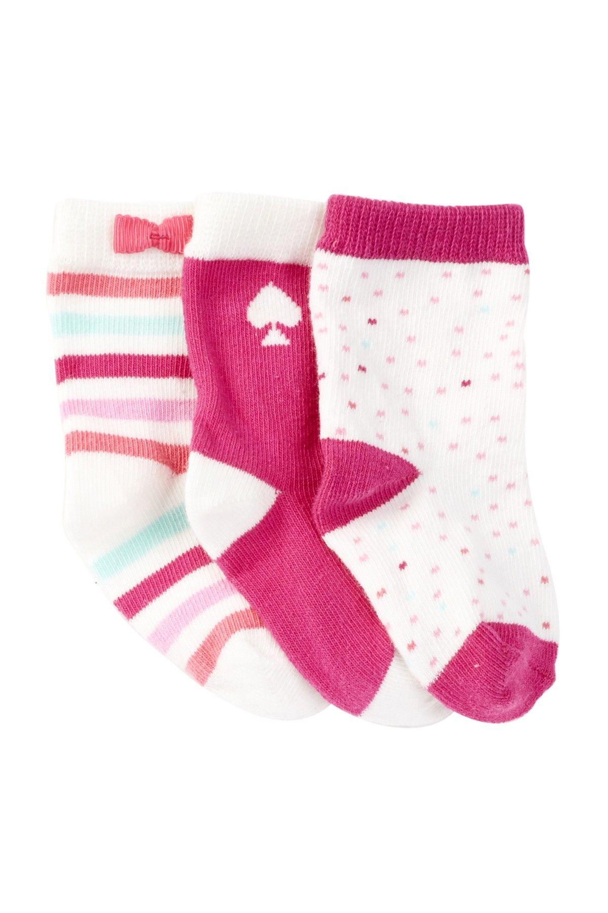 Box Sock Set Pack of 3 Baby Girls