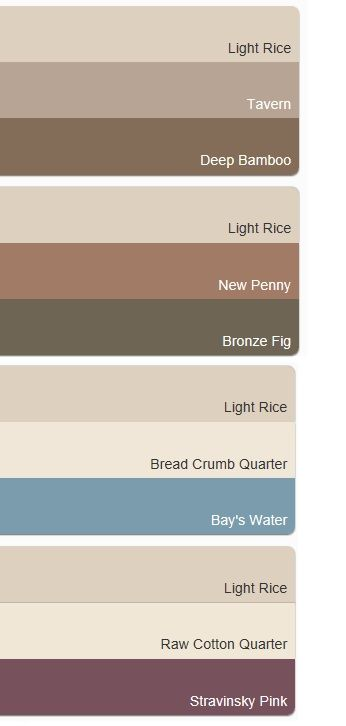 Schemes With Dulux Light Rice Inspiration For Accent