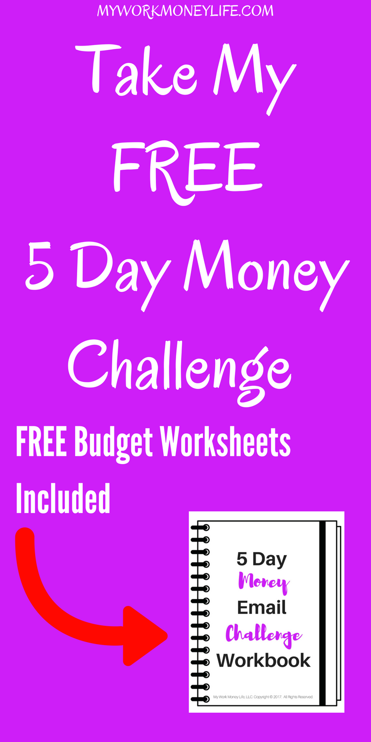 Worksheets Money Challenge Worksheets are you in desperate need of a budget makeover take my free 5 day money worksheetsmoney challengemillennial