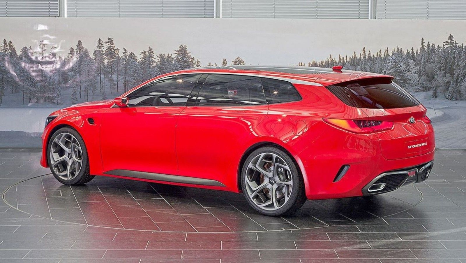 2015 Kia Sportspace Concept In 2020