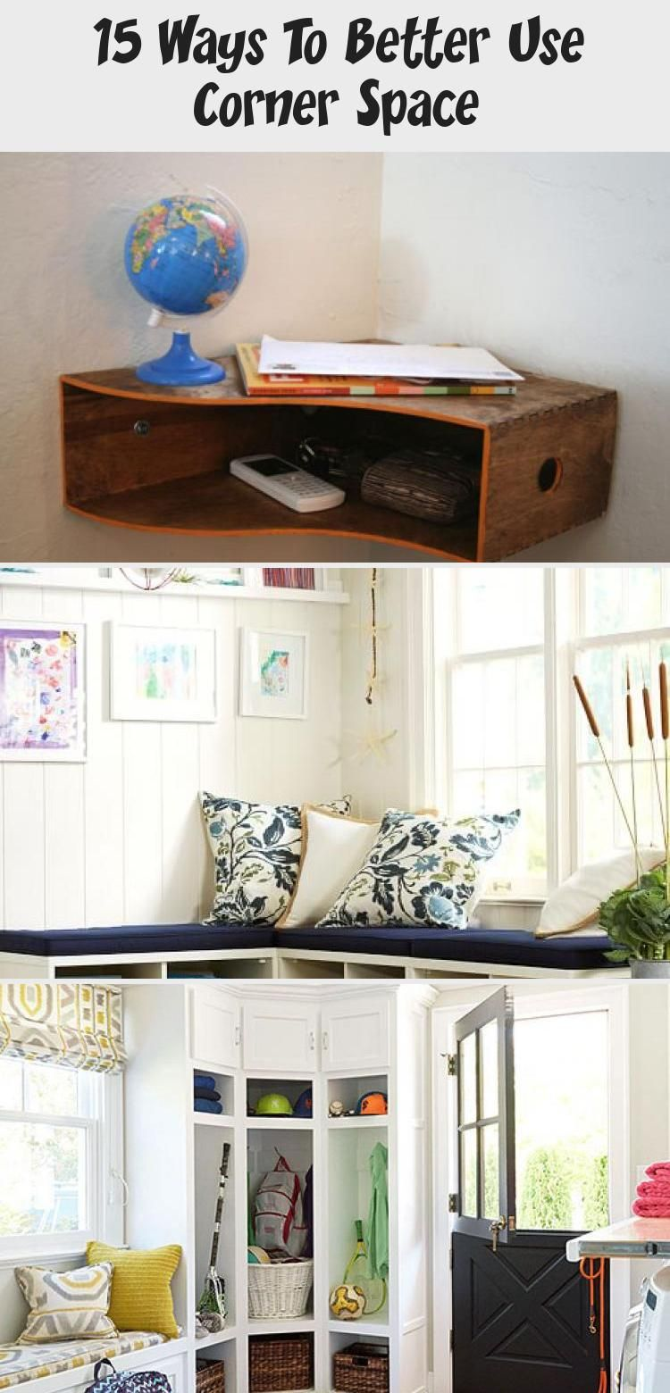 15 Ways To Better Use Corner Space Decor in 2020 Home