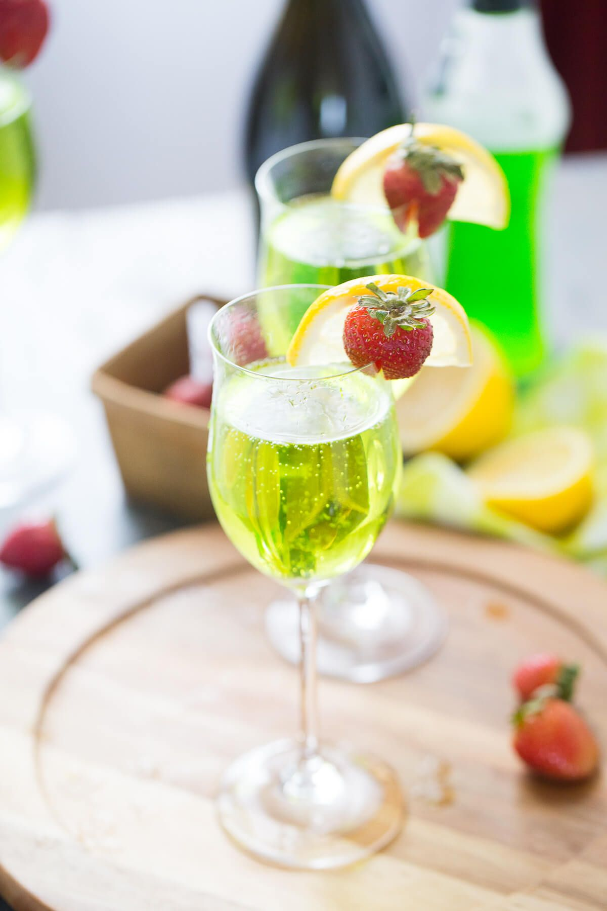 Bubbly irish cocktail irish cocktails prosecco drinks