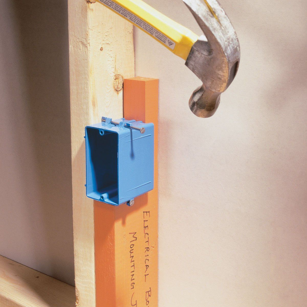 Electrical Box Mounting Jig Diy Electricity