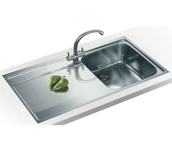 Franke Maris Slim-Top Propack MRX 211 Stainless Steel Sink And Tap ...