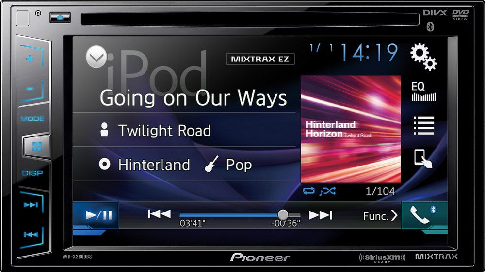 Crutchfield looks at the Pioneer AVH-X2800BS DVD receiver in this