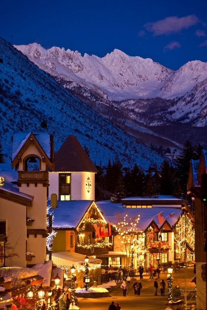 Vail, Colorado - clearly the place to be.