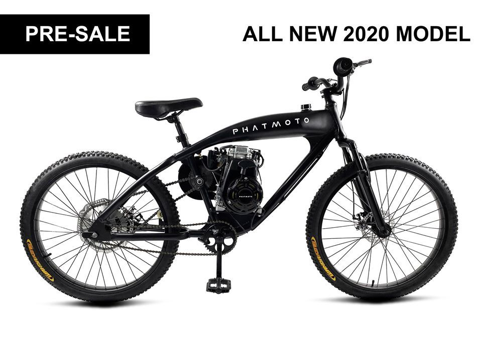 Phatmoto Rover 2020 79cc 4 Stroke Is The Only Motorized Bicycle