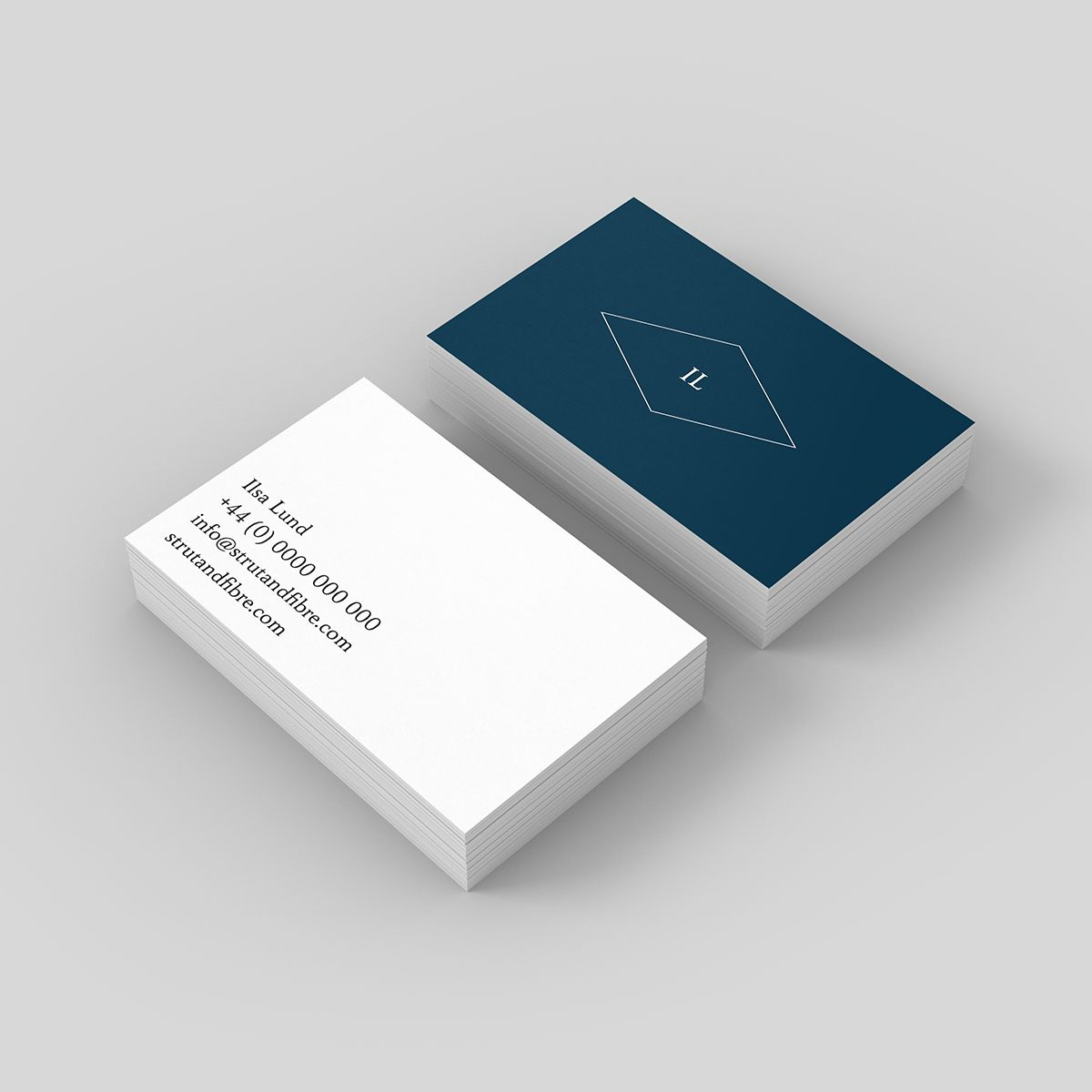 Lund – one of our Classic business card templates available to ...