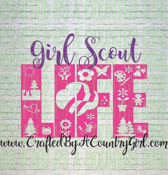 SCOUT LIFE SVG, girl shirt svg, life design, life svg, camping svg