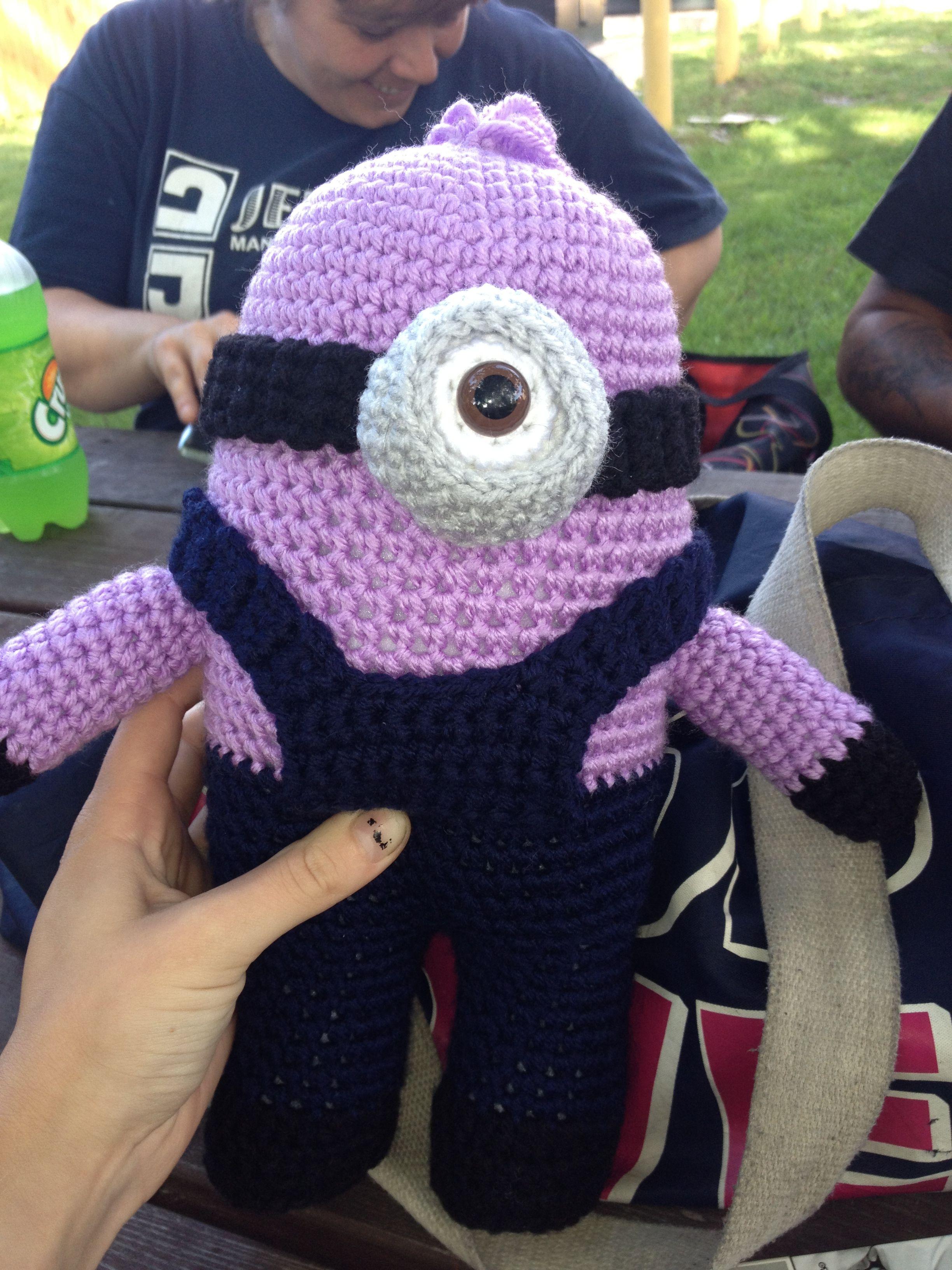 Evil minion - crochet | Minions | Pinterest