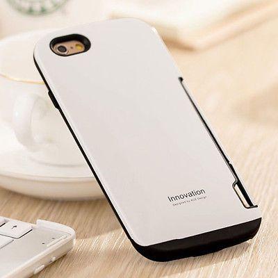 Hybrid For Apple iphone 5 5S Card Holder Back Case Cover Rubber Hard Glossy Slim https://t.co/RcZunl6olr https://t.co/mvLPxC1RnU