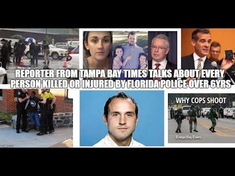 reporter FROM Tampa Bay Times TALKS ABOUT every person killed or injured...