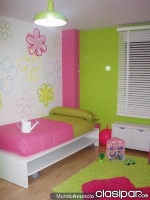 paredes decoradas - Buscar con Google Habitaciones Para Niños