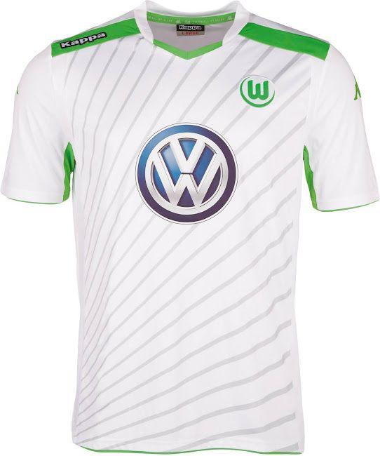 reputable site 28bc4 7c438 Kappa VfL Wolfsburg 14-15 Kits Released - Footy Headlines ...