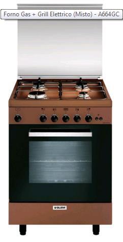 Prezzi e Sconti: #Glem gas a664gc cucina a ad Euro 536.00 in ...