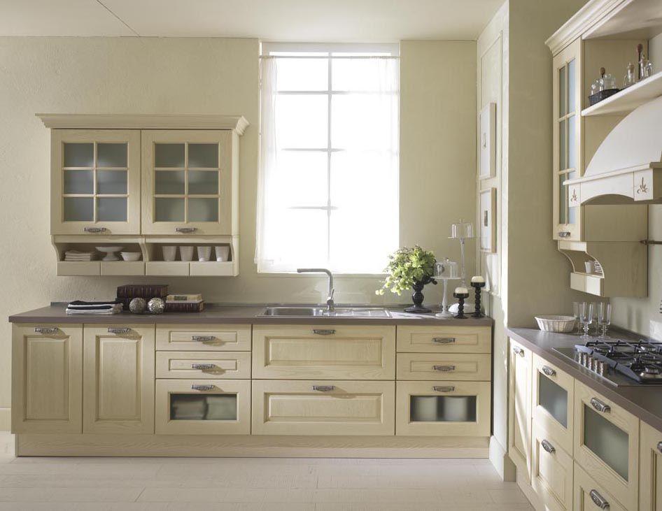 Cucina cucinesse arredamento stile rustico elena - Cucina color melanzana ...