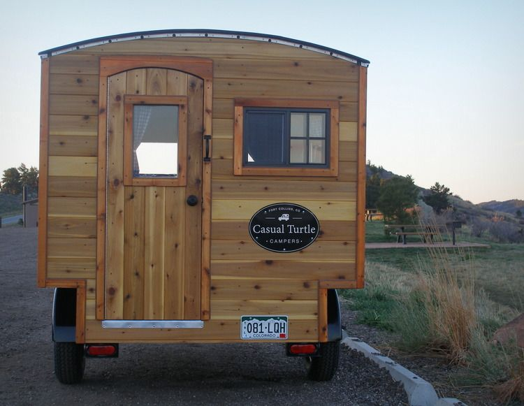Casual Turtle Campers Colorado Tiny Homes Pinterest