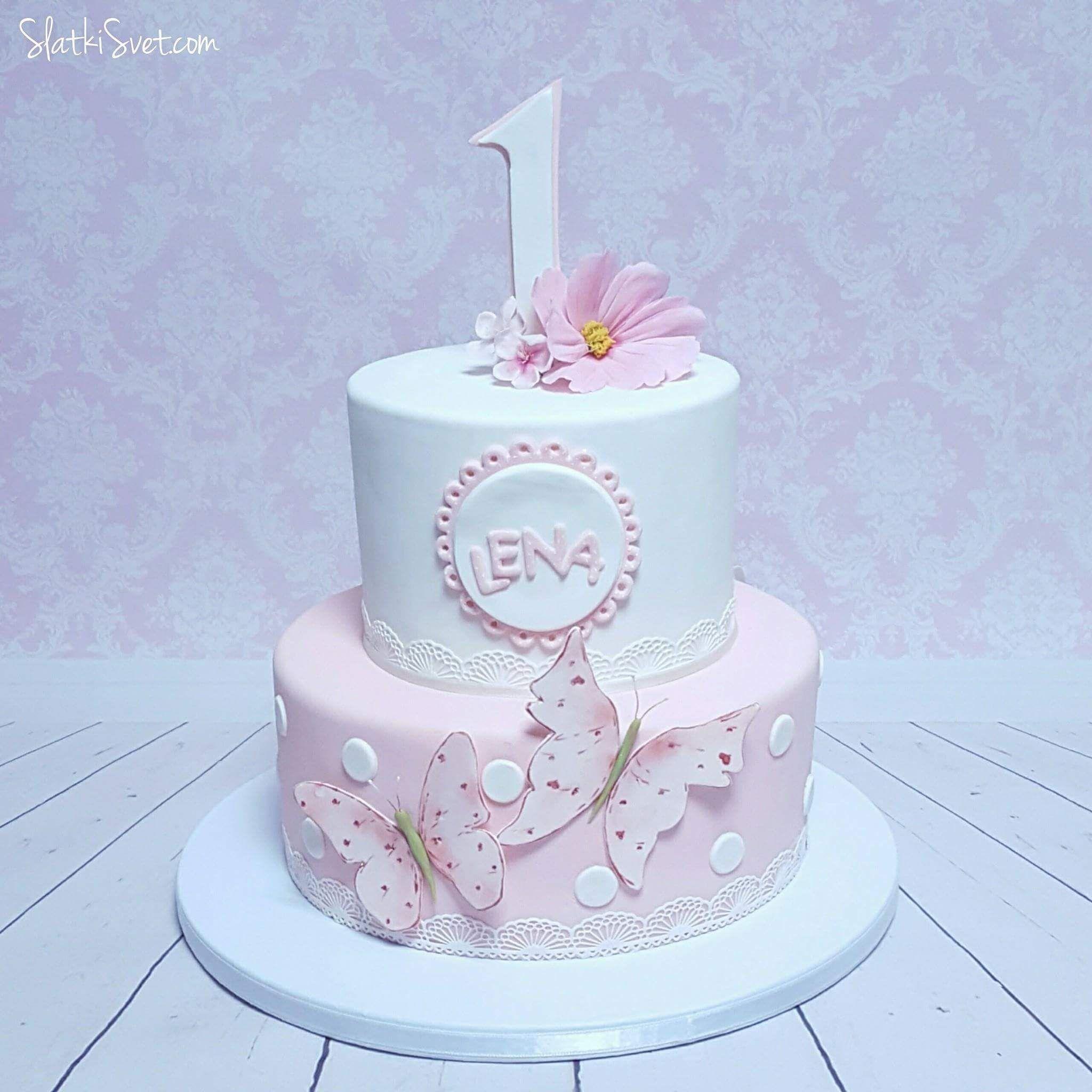 Girl S Birthday Cake Slatkisvet By Vanja Facebook Page