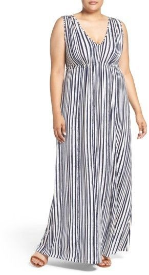 319664116 Tart Grecia Sleeveless Jersey Maxi Dress   Products in 2019   Plus ...