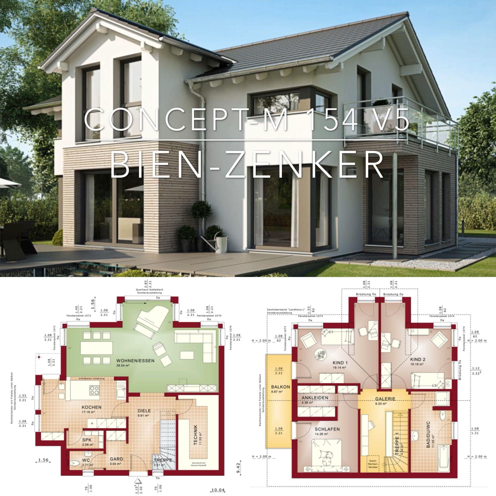 Photo of European Architecture House Plan & Interior Design Ideas – Concept-M 154 V5