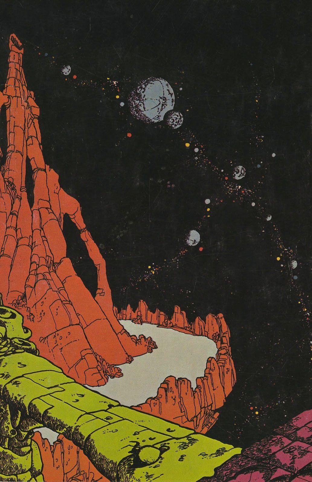 Vaughn Bodē, The dawn of time on Deadbone Mountain (The first testament of Cheech Wizard), Deadbone Erotica, 1968.