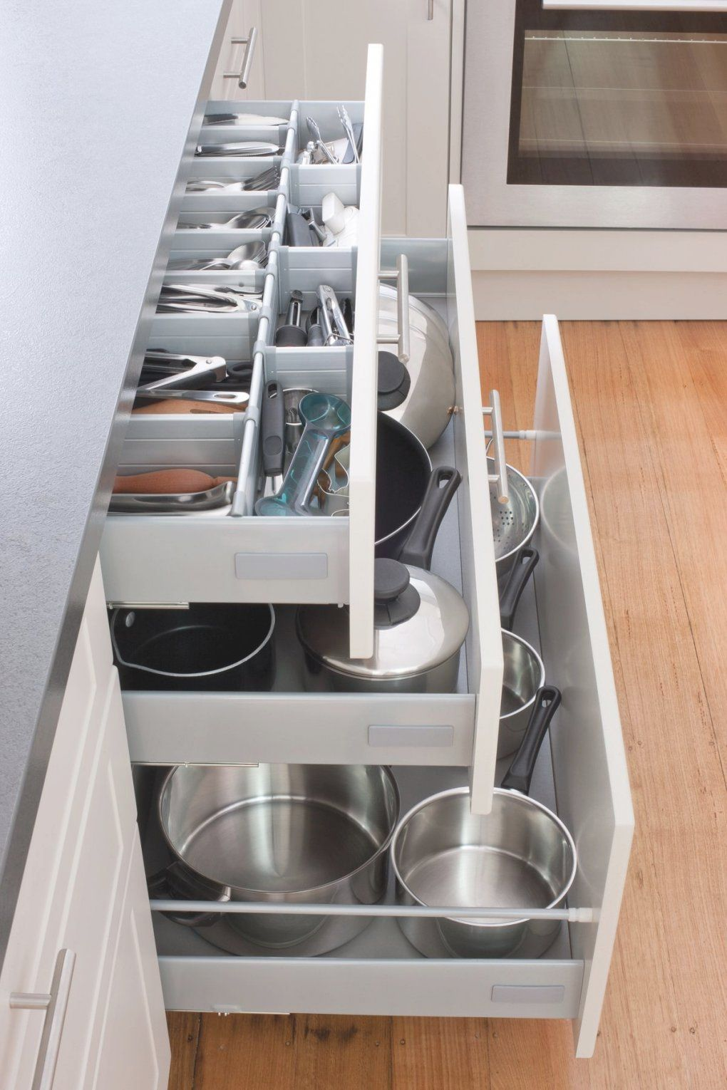 Pot Drawers Kitchen Cabinets In 2020 Kitchen Cabinet Organization Layout Kitchen Cabinets Decor Small Kitchen Organization