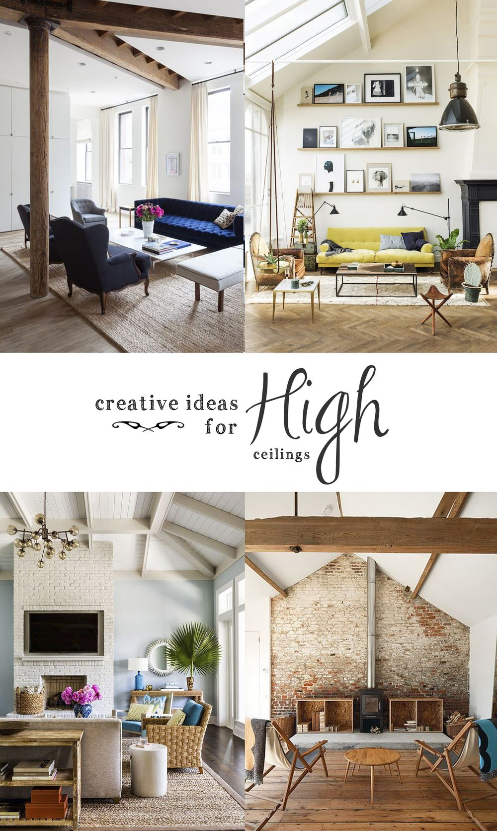 6 creative ideas for high ceilings   Ceilings, Spaces and Foyers
