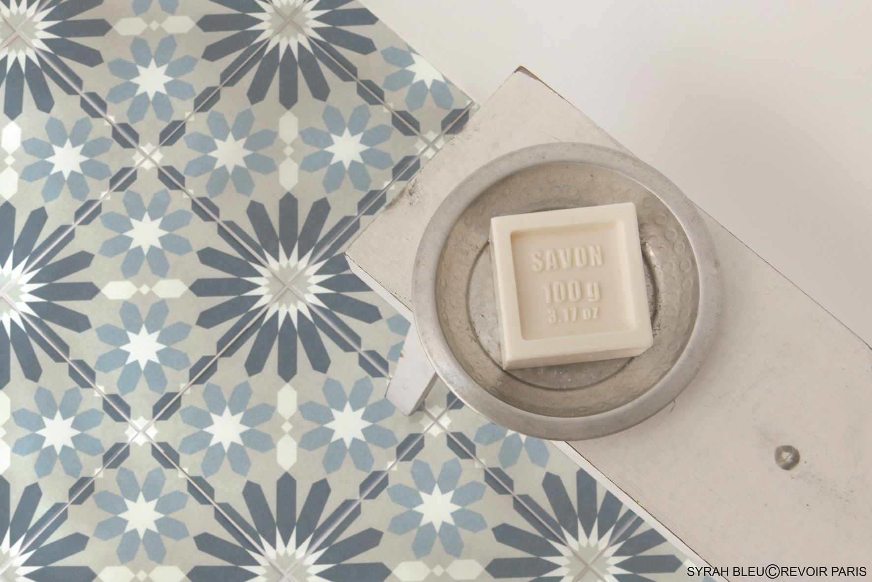 Curiously Patterned Encaustic Tiles Made In Porcelain Perfect For Kitchens