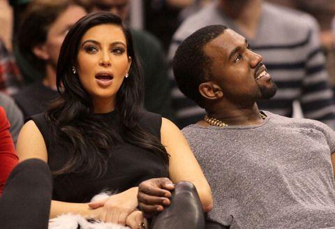 Kim and Kanye --