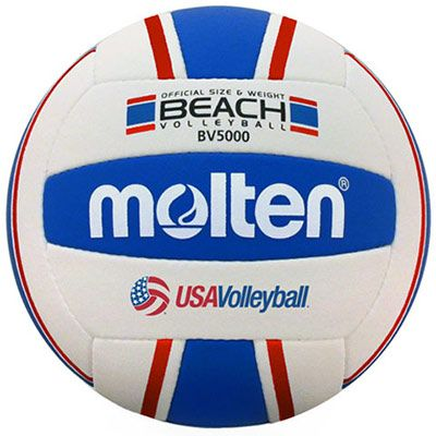 Molten Beach Outdoor Ball Royal Red Midwest Volleyball Warehouse Beach Volleyball Volleyballs Volleyball