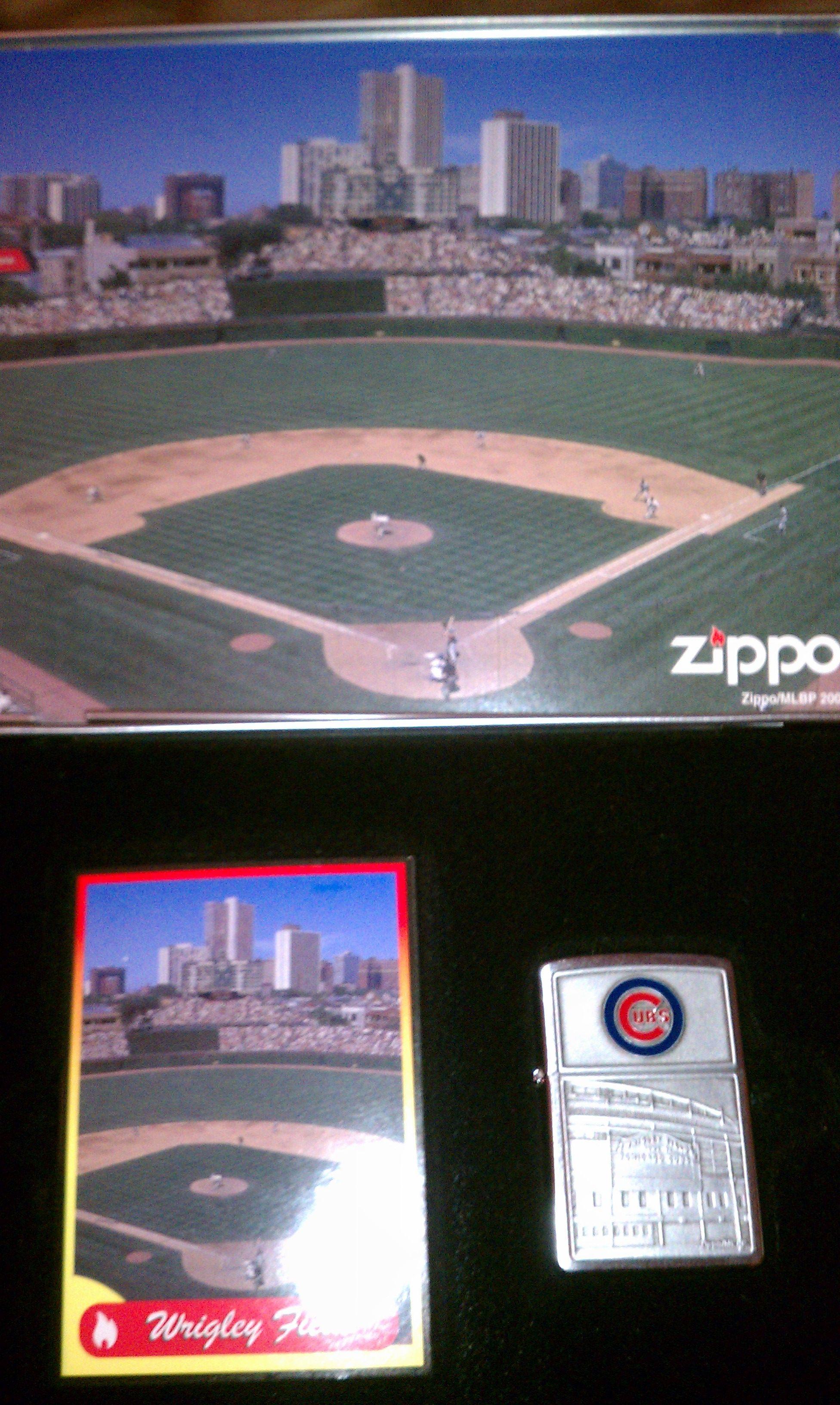 Cubs Zippo Major League Baseball Baseball Team Baseball Field