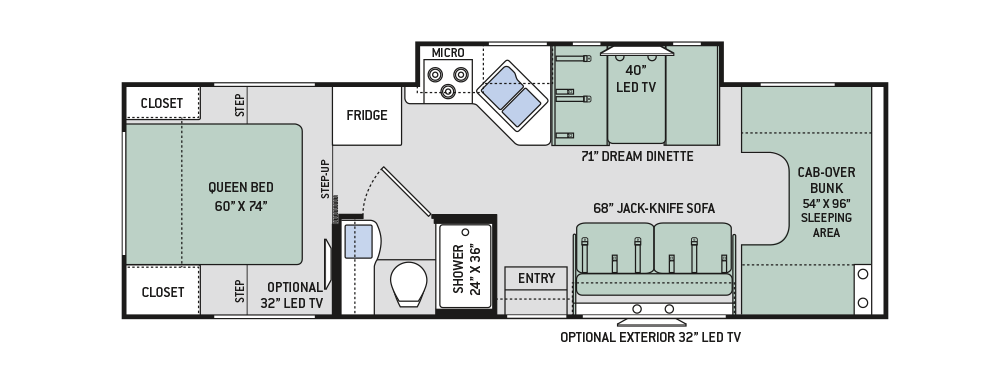 Class C Toy Hauler Floor Plans Wow Blog