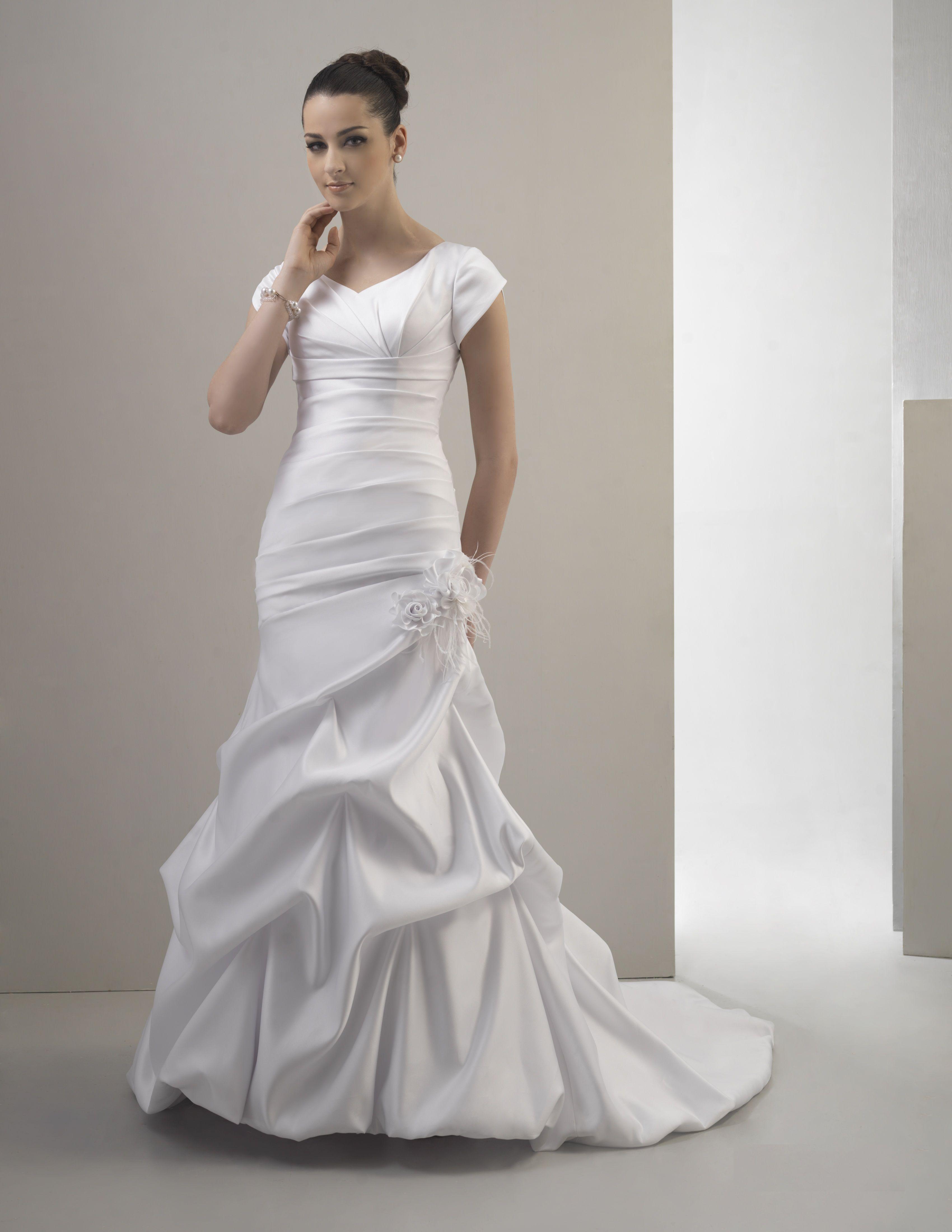 3DLCKN Modest wedding dresses, Wedding dresses unique