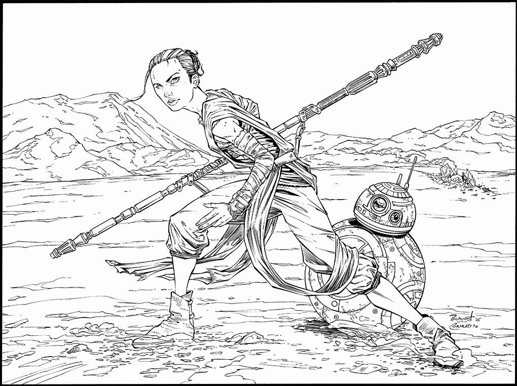 Bb 8 Coloring Page Elegant Rey And Bb8 Inks By Warballoon On Deviantart Coloring Pages Castle Coloring Page Abraham And Lot