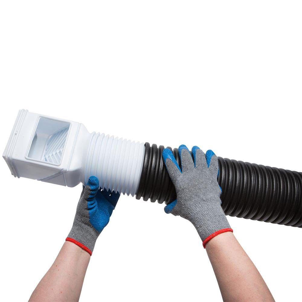 Amerimax Flex Grate Downspout Debris Filter Strainer Gutter Leaf Guard Residential Connector White Downspout Gutter Leaf Guard Drainage Solutions
